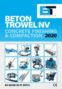 Beton Trowel Canada 2020 Catalog